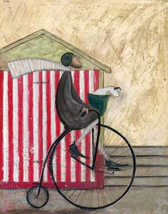 Sam Toft (b1964; Staffordshire, a landlocked county in the West Midlands of England)