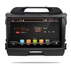 3G/4G 9 Inch! Android 6.0 quad core Head unit Car DVD player for KIA sportage r 2014 2011 2012 2013 2015 with Gps wifi Radio