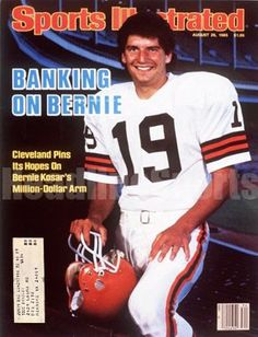 1985 Bernie Kosar Cleveland Browns Sports Illustrated