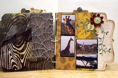 Gwen: South Africa - Safari Mini Scrapbook Album