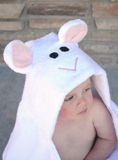 DIY Toy : DIY Lamb Hooded Towel