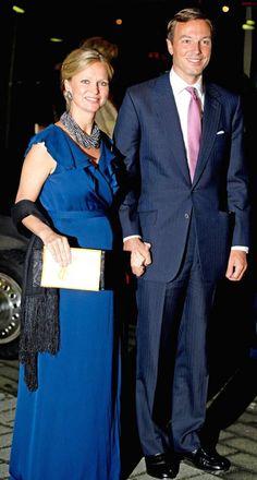Royalty & Pomp: 02/14/16 - H.R.H. Princess Carolina of Bourbon-Parma, Marchioness di Sala, and Albert Brenninkmeijer