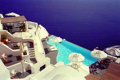 Grecia | 40 vistas increíbles desde piscinas infinitas