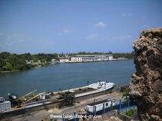 The Sans Souci terminal  looking across Rio Ozama http://www.colonialzone-dr.com/transportation2.html#port