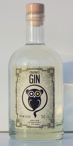 Clockers Gin, Augustus Rex noble manufactory                                                                                                                                                                                 Mehr