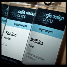 Agile Design Camp identity and materials on Behance