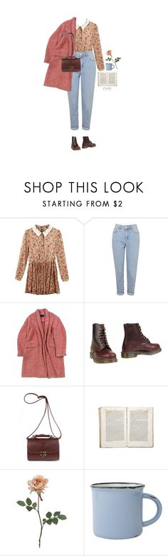 """sinusta"" by hetasdfghjkl ❤ liked on Polyvore featuring Topshop, Isabel Marant, Dr. Martens, Jayson Home and canvas"