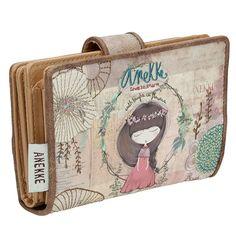 Anekke Nature Πορτοφόλι με κουμπί Coin Purse, Purses, Wallet, Handbags, Purse, Bags, Diy Wallet, Coin Purses