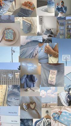 blue phone wallpaper