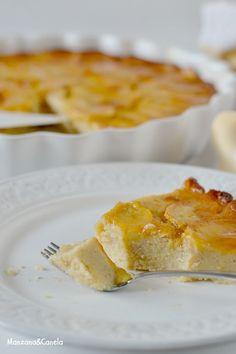 Tarta de manzana rápida Cheesecake Recipes, Dessert Recipes, Apple Pie Cake, Delicious Desserts, Yummy Food, Breakfast At Tiffanys, Apple Recipes, Smoothie Recipes, Macaroni And Cheese