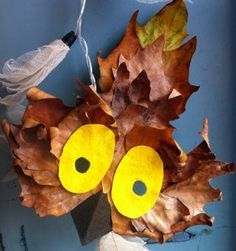 Willow the Owl Mask- Not only is this craft great to make, it is the ultimate DIY Halloween costume to make with kids so they can feel a greater sense of pride in their Halloween costume than they already had.