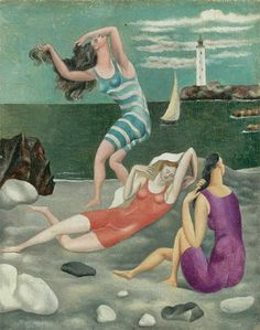 Picasso - Les baigneuses