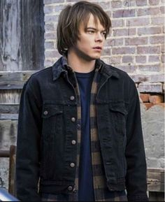 Jonathan Byers Denim Jacket