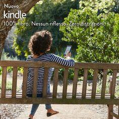 """Nuovo e-reader Kindle, schermo touch da 6"""" (15,2 cm) anti riflesso, Wi-Fi (Nero) - Con offerte speciali"""