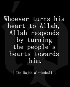 Please Allah and He will make everyone else pleased with you