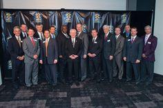 SEC Athletics Directors at SEC Network announcement.
