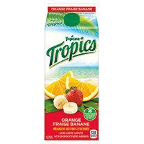Pour chaque 3 $ dépensé en mélange de jus de fruits Tropicana