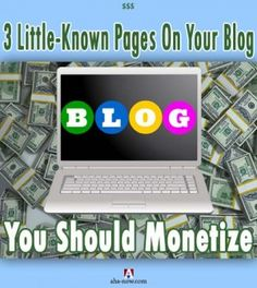 Do you have a blog? Have you monetized it? Let me ask you again - have you used all the possibilities to make money from your blog pages? Don't think too hard because this post  tells you about all the money making options from your blog, and the little-known blog pages  that you should monetize. More at the blog.:)