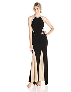 online shopping for Xscape Women's Sleeveless Gown With Illusion Insets from top store. See new offer for Xscape Women's Sleeveless Gown With Illusion Insets Fashion Logo Design, Fashion Logos, Formal Dresses For Women, All About Fashion, Fashion Boutique, Fashion Dresses, Women's Dresses, Glamour, Gowns