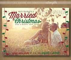 christmas save the date ideas save the date christmas card married christmas christmas lights