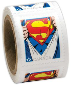 Canada Post - Superman™ Coil of 75 Stamps - Stamps