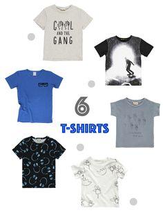 6 coole T-Shirts für Boys - Mother's Finest