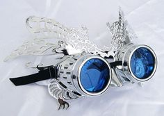 Steampunk Masquerade Mask/Goggle Set ordered from our member Jaded Minx by Lady Gaga Steampunk Cosplay, Steampunk Goggles, Steampunk Clothing, Steampunk Fashion, Medieval Fashion, Steam Punk Diy, Lady Like, Steampunk Wedding, Victorian Steampunk