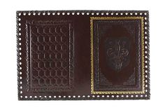 Monte Nero Imports - Florentine Leather Journal Cover in Raw Umber, $35.00 (http://www.mtnero.com/florentine-leather-journal-cover-in-raw-umber/)