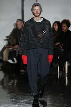 N.Hoolywood Fall 2017 Menswear Collection Photos - Vogue