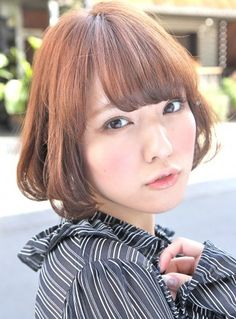 Kawaii Short Japanese Hairstyle-pin it from carden