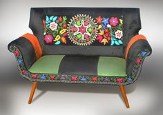 Hey, I found this really awesome Etsy listing at https://www.etsy.com/listing/187230090/suzani-bespoke-couch