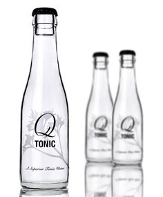 """""""A gin and tonic is 70% tonic, 30% gin. Q Tonic, a premium tonic water, is made with:  •Hand-picked quinine from the Peruvian Andes  •Organic agave as the sweetener   •60% fewer calories than regular tonic water   •All natural ingredients   •No high fructose corn syrup   •85% lower glycemic rating than other tonic waters"""