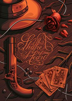 Shape of My Heart | A Music Illustrated Tribute to Sting by Jun Hun Yap | From Daily Inspiration in the Netherlands