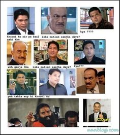 Funny Indian CID Serial Pictures Joke