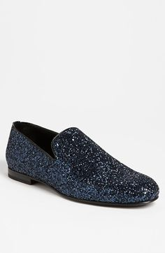 I have the Glitter Loafer from Jimmy Choo in royal blue and the Midnight Glitter Loafer from Louis Vuitton. I love them both!