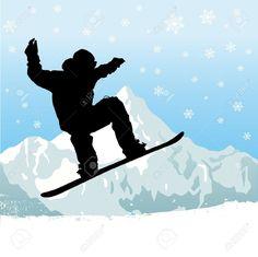 10900906-snowboarding-Stock-Vector-snowboarding-snowboard-snowboarder.jpg (1300×1298)