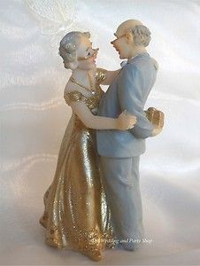 old couple wedding cake toppers wedding anniversary cake topper this is celebrating 17982