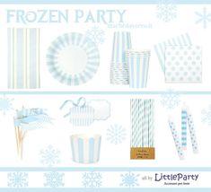 Come realizzare un Frozen Party - festa a tema Frozen - Elsa and Anna party - Italian and English! - cake, food, decorations, games
