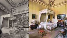 -- the duchess' bedroom. (IOW: Consuelo's bedroom, then & now. England Ireland, England Uk, Blenheim Palace, English Decor, Large Homes, Present Day, Interior Design, The Originals, Architecture
