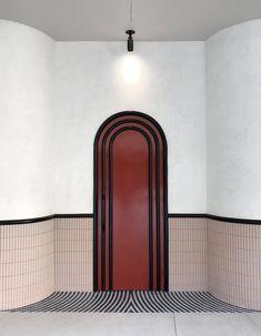 미국 LA에 위치한 Bibo Ergo Sum레스토랑은 뉴욕에 기반을 둔 회사 HOME STUDIOS가 설계했...
