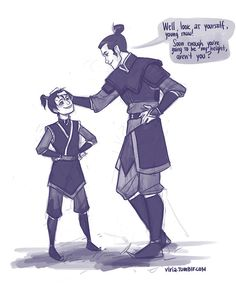 Little Zuko and Lu Ten. I've pinned this before, but...so many feels....