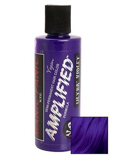 Manic Panic Amplified Semi-Permanent Ultra Violet Hair DyeManic Panic Amplified Semi-Permanent Ultra Violet Hair Dye,