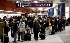 Avoid long restroom lines at the airport. As you enter the terminal everyone wants to stop at the first restroom they see.  Theres usually another restroom just down the terminal so hold it and skip down to the less crowded one.