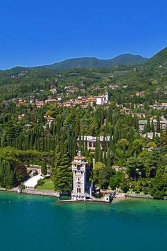 Gardone Riviera, Lago di Garda, Italy... World's Best Beaches 2013: http://youtu.be/4KAj7Vh0bqo via @YouTube World Travel... http://biguseof.com/travel