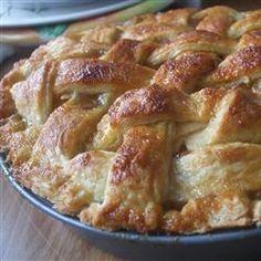 Butter Flaky Pie Crust - best pie crust recipe ever. Best Pie Crust Recipe Ever, Pie Crust Recipes, Pie Crusts, Flakey Pie Crust, Alton Brown Pie Crust Recipe, Crisco Pie Crust Recipe, Buttery Pie Crust Recipe, Dough Recipe, Pie Dessert