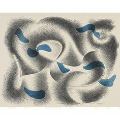 Herbert Bayer lithograph