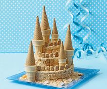 sandcastle birthday cake for my water princess?