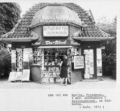 Kiosk Südwestkorso, Berlin Friedenau