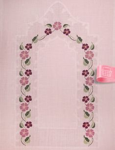 İşlemelik Hazır x 80 cm - Thumbnail Cross Stitch Floss, Cross Stitch Borders, Cross Stitch Designs, Cross Stitch Embroidery, Cross Stitch Patterns, Hand Embroidery Design Patterns, Embroidery Flowers Pattern, Beading Patterns, Flower Patterns