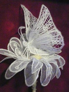 Irish crochet &: Бабочки для ирландского кружева